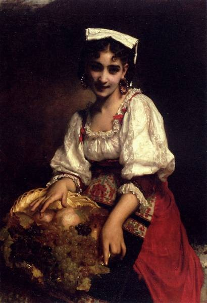 Piot Adolphe An Italian Beauty